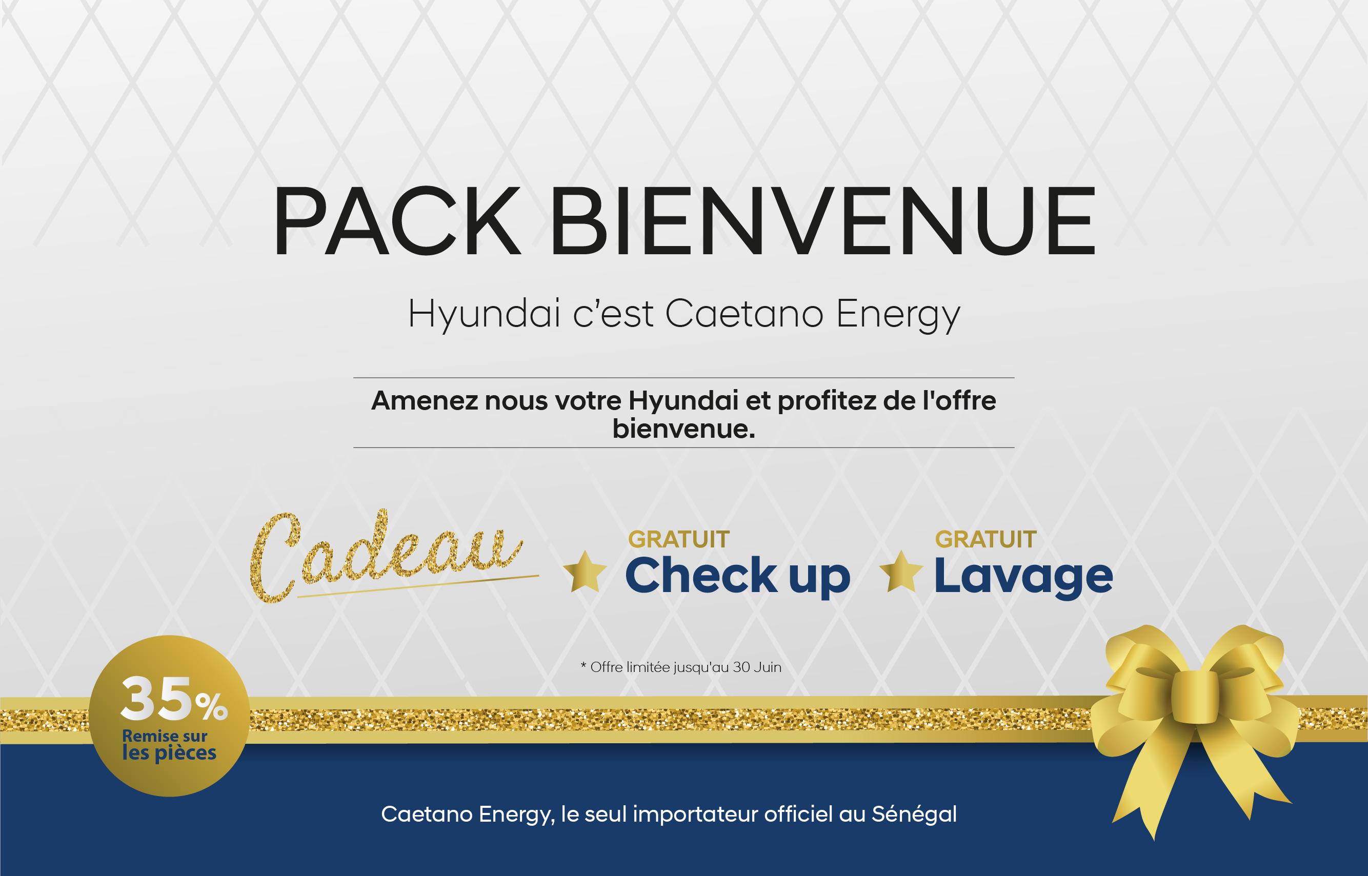 Campagne Pack Bienvenue