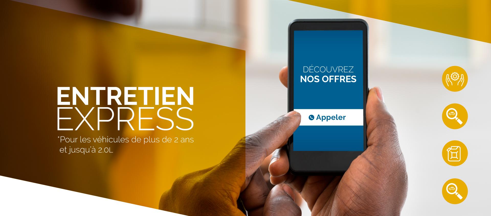 Entretien Express - SAV