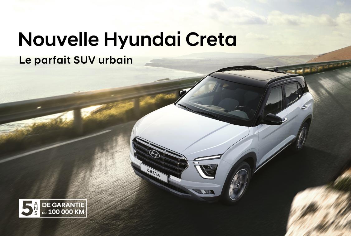 Nouvelle Hyundai Creta