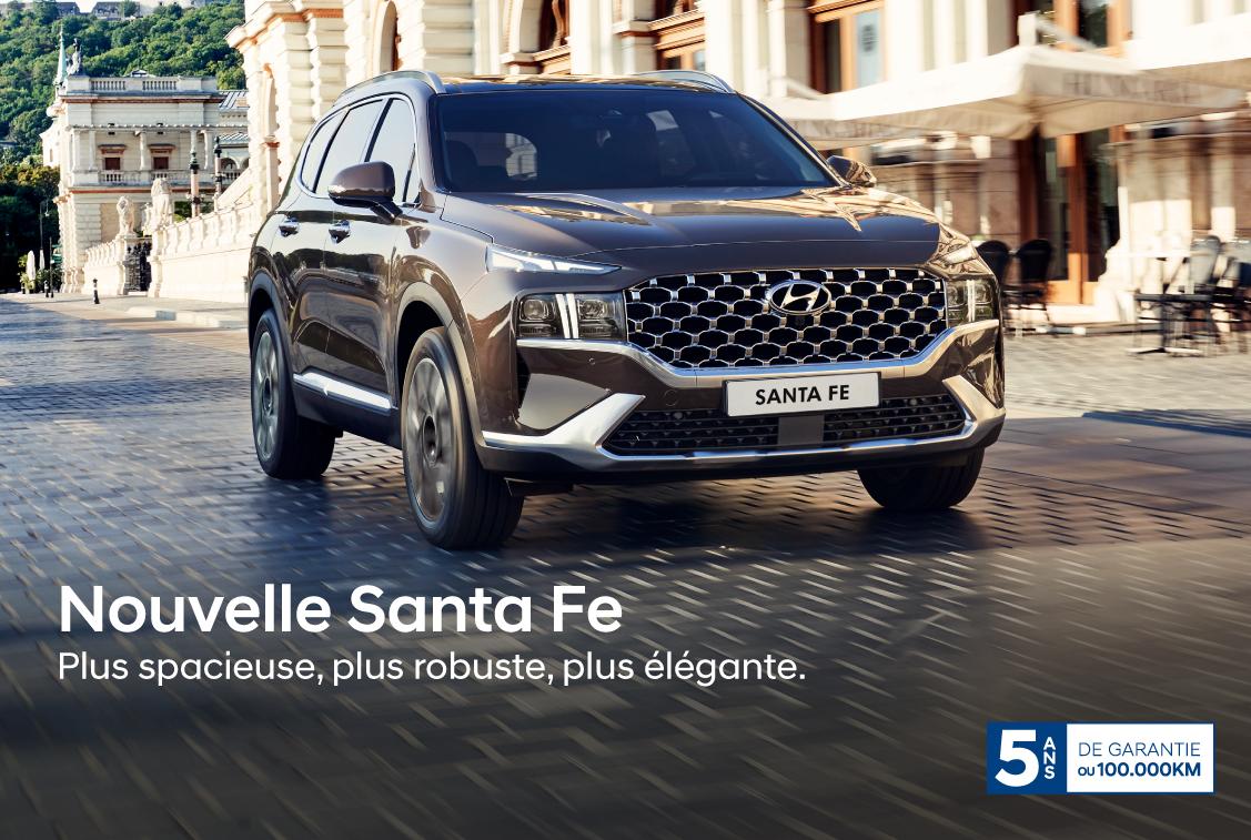 Nouvelle Hyundai Santa Fe
